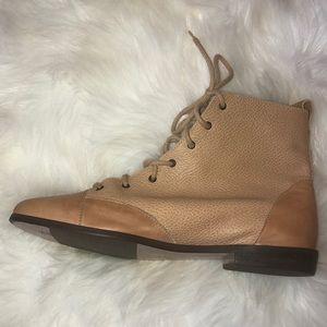 e9068fc23 buskens Shoes   Beige Lace Up Booties Size 9   Poshmark
